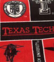 Texas Tech University NCAA Block Fleece Fabric, , hi-res