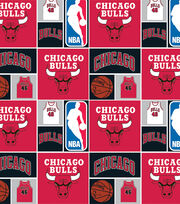 Chicago Bulls NBA  Cotton Fabric, , hi-res