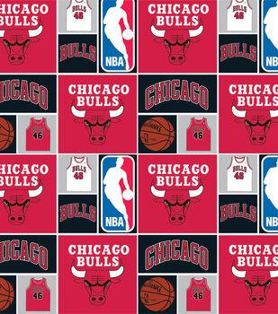 Chicago Bulls NBA  Cotton Fabric