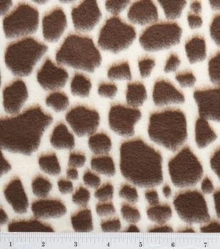 Anti Pill Fleece Fabric-Giraffe