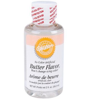 Wilton® No Color Butter Flavor-2 Ounces