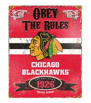 Chicago Blackhawks NHL Vintage Signs, , hi-res