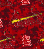 MLB Fleece Fabric-St Louis Cardinals, , hi-res