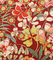 Alexander Henry Cotton Fabric-Chiara Brick Red, , hi-res