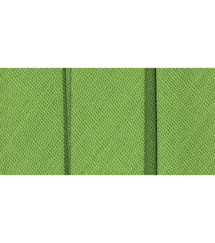 Wrights Extra Wide Double Fold Tape-Green Glow