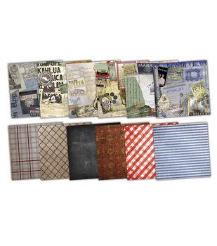 7 Gypsies 6X6 Paper Pack Epicurean