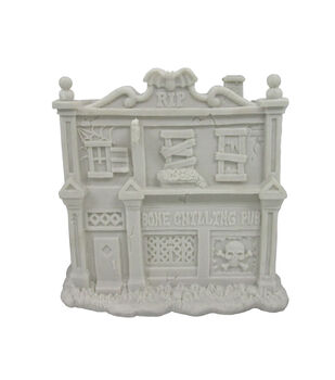 Fab Lab™ Paintable Resin Haunted House Pub