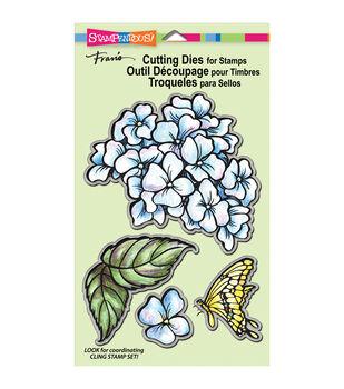 Stampendous Dies-Hydrangea Garden Set/4