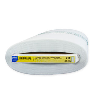 "Pellon® 71F Peltex® I One-Sided Fusible, White 20"" x 10yds bolt"