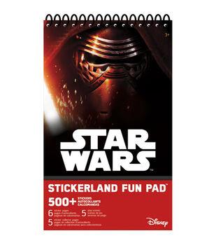 Star Wars VII Stickerland Fun Pad