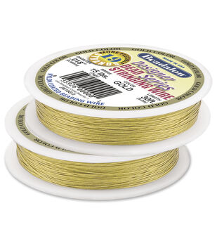 Beadalon 19-Strand Bead Stringing Wire, .018 inches thick, 30 ft. spool