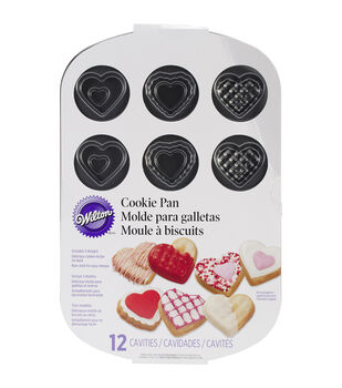 "Wilton® Small Heart Cookie Pan-12 Cavity 11.5""X7.56"""
