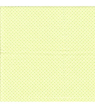 Snuggle Flannel Fabric-Diagonal Plaid Green