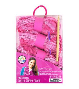 Bead Bazaar Sparkle Ruffle Scarf Kit