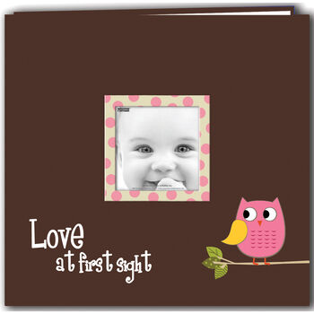 Pioneer Baby Owl Printed Design Postbound Album