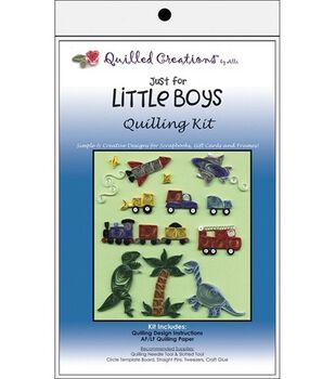 Quilled Creations Quilling Kits-Just For Little Boys