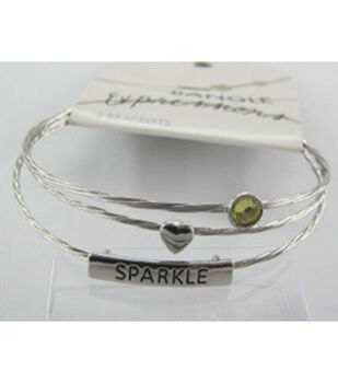 Bangle Expressions Silver Bracelet Assortment 199