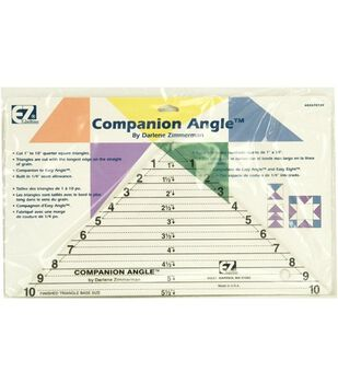 "Wrights®/EZ Acrylic Template Companion Angle 10"""