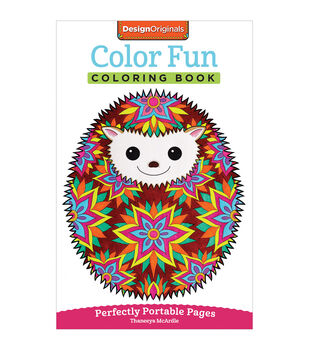 Adult Coloring Book-Design Originals Color Fun