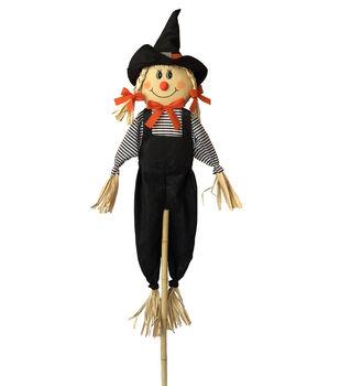 Maker's Halloween 60'' Girl Halloween Scarecrow