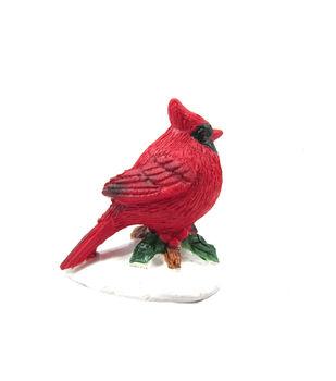 Holiday Cheer Mini Cardinal Figurine