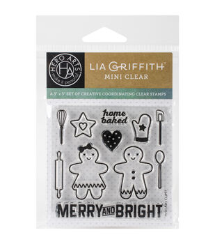 Hero Arts® Clear Stamps-Home Baked