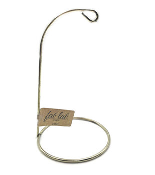 "Round Gold Wire Easel 7""-"