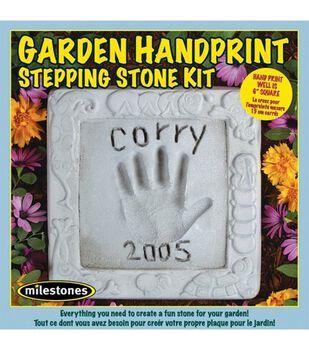 Garden Handprint Stepping Stone Kit