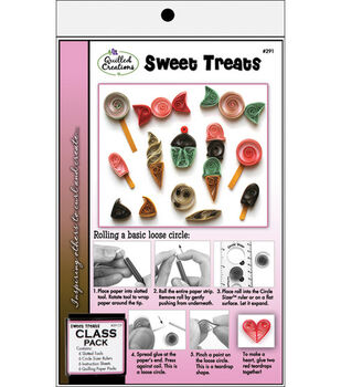 Quilled Creations Quilling Class Pack Kit-Sweet Treats