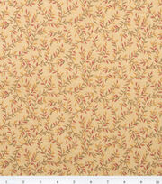 Keepsake Calico™ Cotton Fabric-Gold Vines, , hi-res