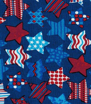 Pattern Filled Stars