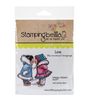 Stamping Bella Eskimo Kisses Cling Stamp
