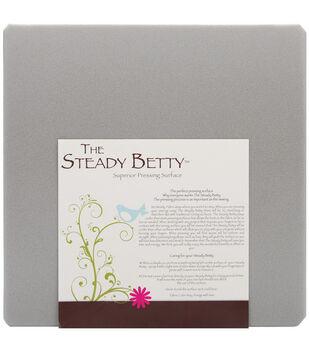 "Steady Betty 16""X16""-Gray"