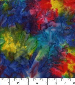 Batik Cotton Fabric - Tonal Rainbow