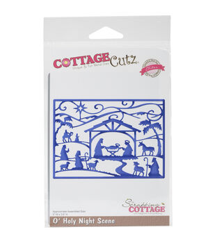 CottageCutz Elites Die-O'Holy Night Scene