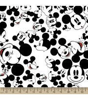 Disney® Mickey Mouse Print Fabric-The Many Faces of Mickey, , hi-res