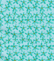 Keepsake Calico™ Cotton Fabric-Happy Nest Mini Blue Floral, , hi-res
