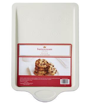 "Buttercream™ Olivia Collection Ceramic Metal 15"" Cookie Slider"