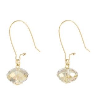 A-wire Drop Earring Champagne
