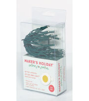 Maker's Holiday 20ct Battery Operated Mini LED String Lights-Warm White, , hi-res