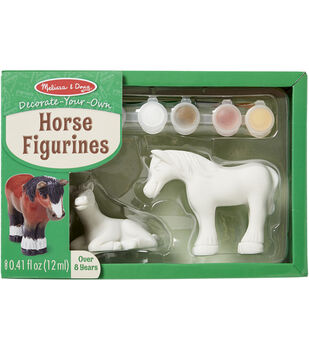 Melissa & Doug Decorate-Your-Own Figurines Kit-Horse