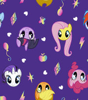 My Little Pony Balloon Toss Fleece, , hi-res