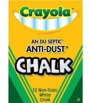 Crayola 12ct Anti Dust Chalkboard Chalk, , hi-res