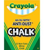 Crayola 12ct Anti Dust Chalkboard Chalk, , hi-res