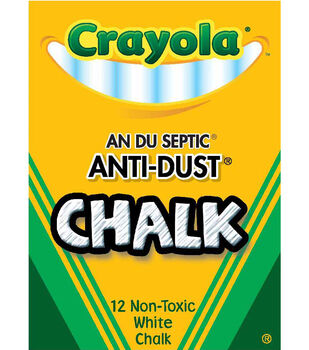 Crayola 12ct Anti Dust Chalkboard Chalk