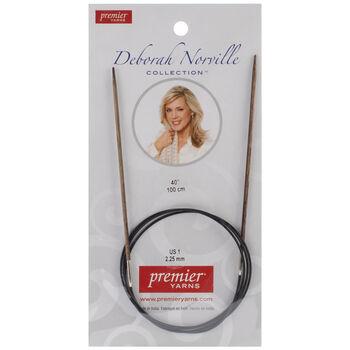 "Deborah Norville Fixed Circular Needles 40"" Size 1/2.25mm"