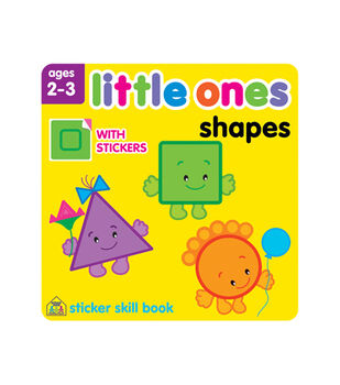 Little Ones Shapes Sticker Workbook