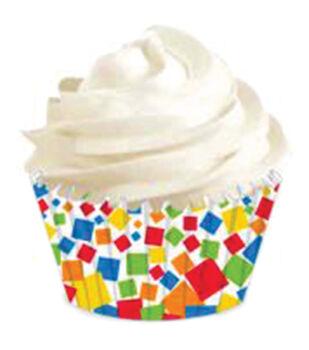 Wilton® Mini Baking Cups-Confetti 100/Pkg