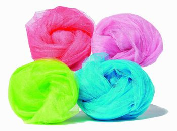Shiny Nylon Tulle Fabric