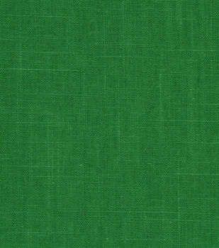 Home Decor 8''x 8'' Fabric Swatch-Robert Allen Linen Slub Malachite